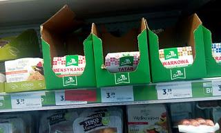 Wegańskie produkty w Tesco
