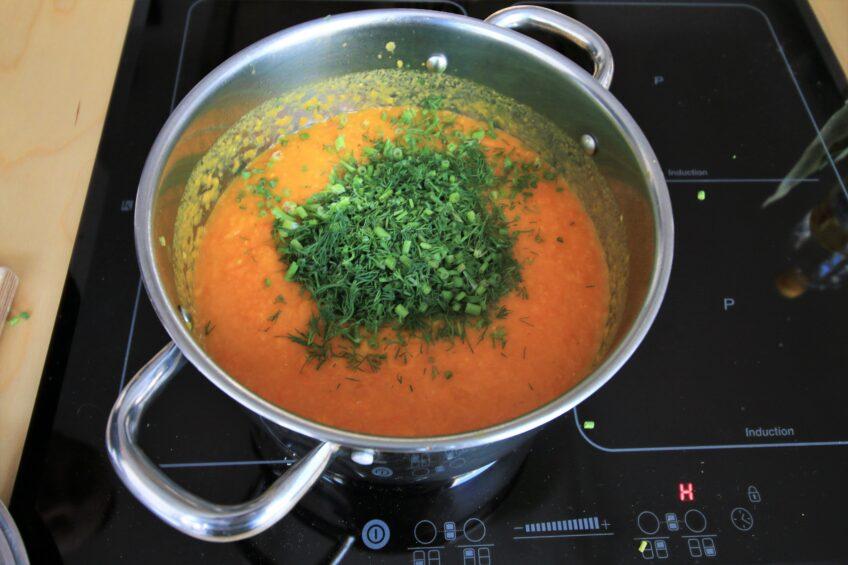 Zupa z batata i marchewki