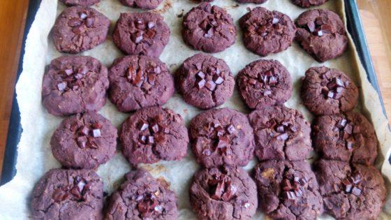 Wegańskie ciasteczka z soczewicy