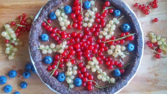 Ekspresowa tarta czekoladowa